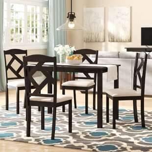 Goosman Modern and Contemporary 5 Piece Breakfast Nook Dining Set by Red Barrel Studio
