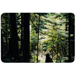 Enchanted Forest By Robin Dickinson Bath Mat