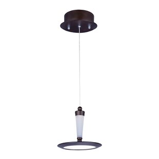 Orren Ellis Brosnan 1-Light Geometric Pendant