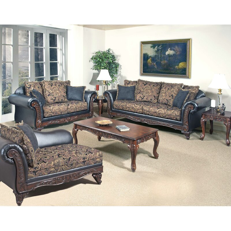 """Cuomhouse 93"""" Flared Arm Loveseat with Reversible Cushions"""