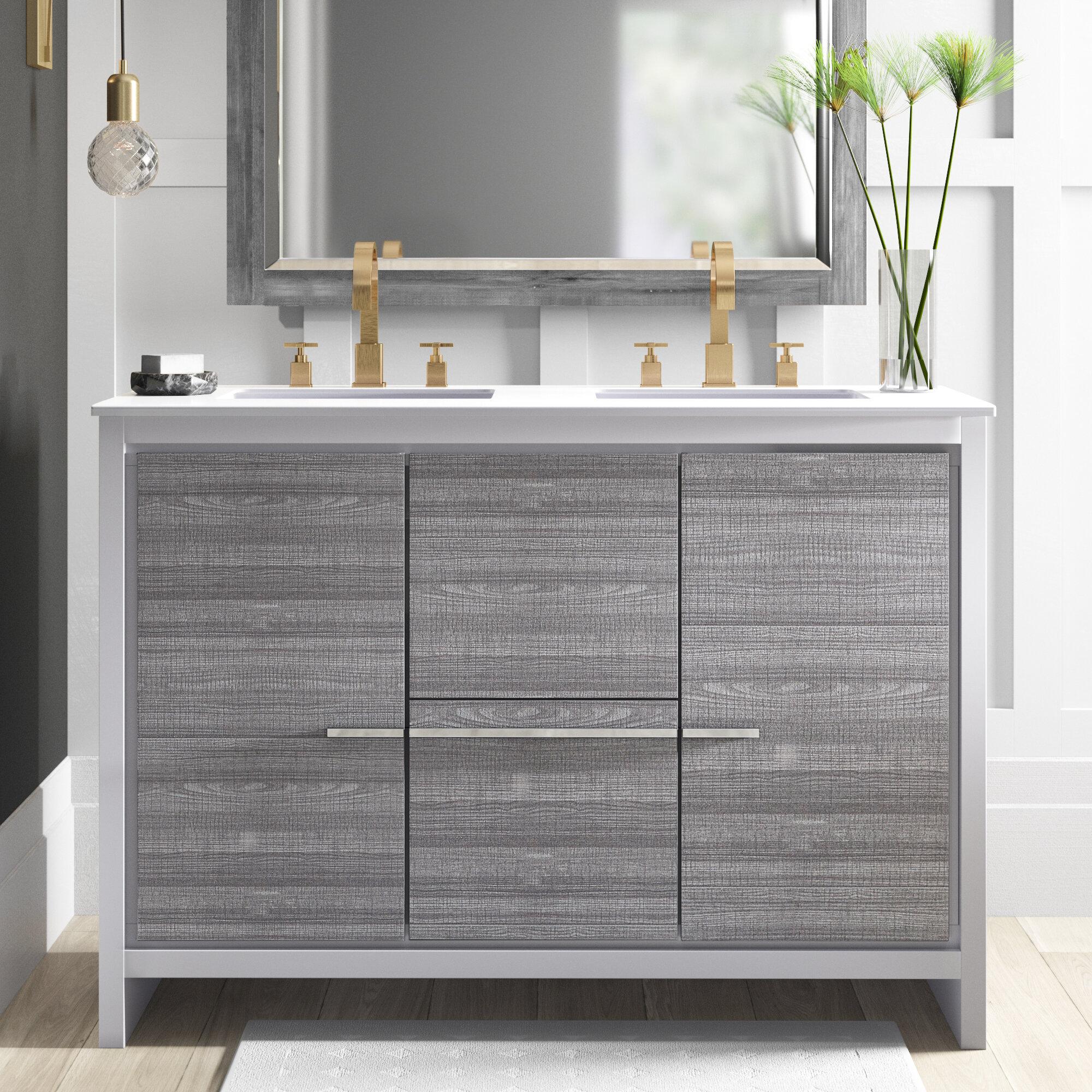 Mercury Row Bosley 48 Double Bathroom