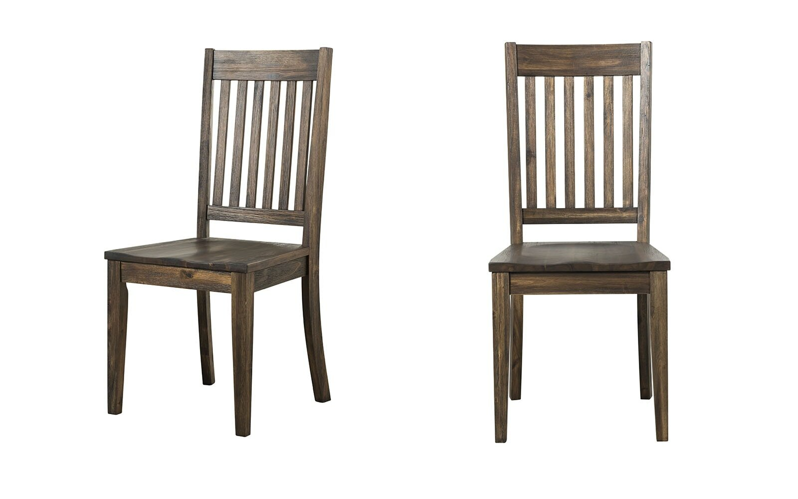Birch Lane Marriott Solid Wood Slat Back Side Chair Reviews Wayfair