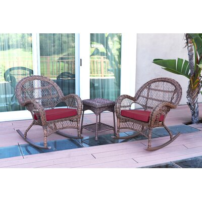3-Piece Lalani Patio Seating Group by August Grove