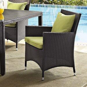 Khadar Patio Dining Chair with Cushion