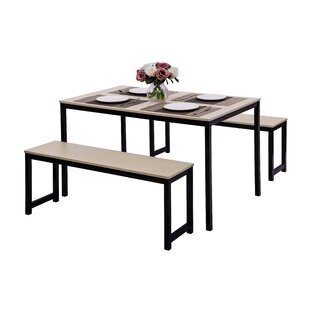 Partin 3 Piece Dining Set by Williston Forge