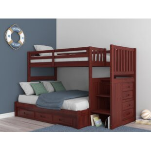 376a6456182f Trumble Twin over Full Bunk Bed with Drawers