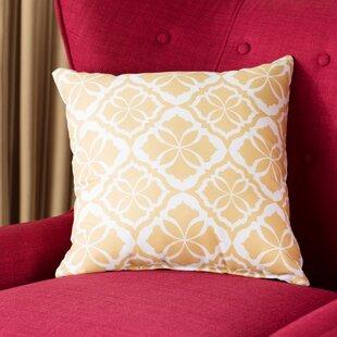 Murdock Geometric Print Throw Pillow