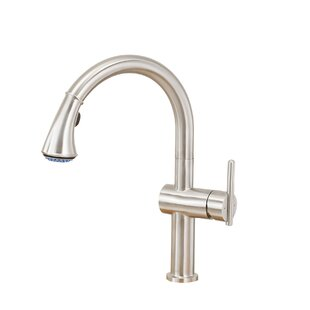 Lenova Single Handle Kitchen Faucet with Side Spray