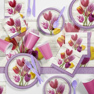 Beautiful Blossoms Floral Tableware Set