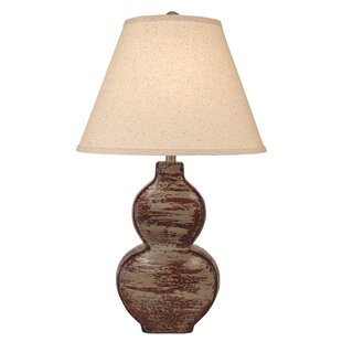 Elmira Flat Hour Glass Pot 27 Table Lamp