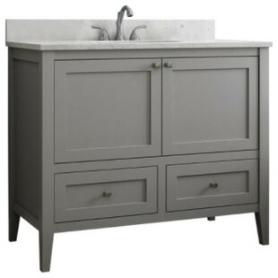 Vanguard 48 Single Bathroom Vanity Base Only By CNC Cabinetry