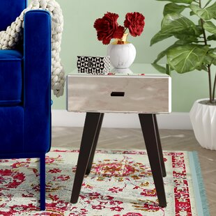 Comparison Saniyah 1 Drawer End Table by Willa Arlo Interiors