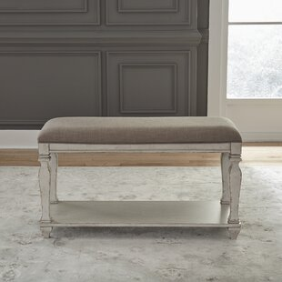 Lucius Wood Bench by Ophelia & Co.