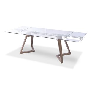 Aiyana Wooden Extendable Dining Table