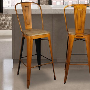 Lopp 30 Bar Stool Set of 4 by Williston Forge