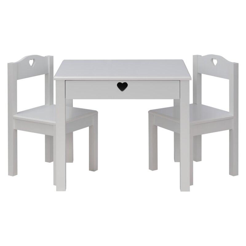 Harriet Bee Alviva Kids Table And Chair