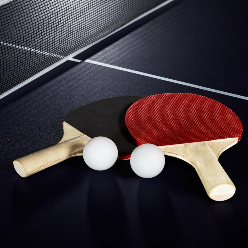 md sports official size indoor table tennis table