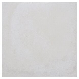 """Symbals 14"""" x 14"""" Porcelain Tile in Off-White by"""