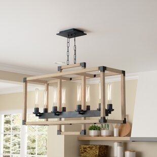 Beau Tianna 8 Light Kitchen Island Pendant