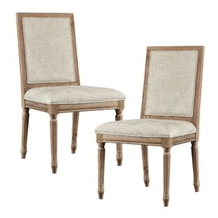 Upholstered Dining Chair (Set of 2) Madison Park Signature