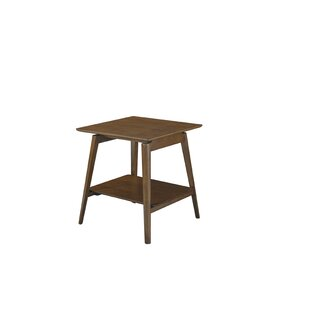 George Oliver Barbosa End Table with Storage