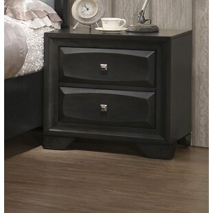 Damarion 2 Drawer Nightstand