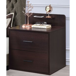 Paulita 2 Drawer Nightstand