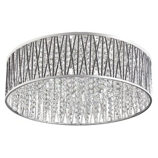 House of Hampton Hart 8-Light Flush Mount