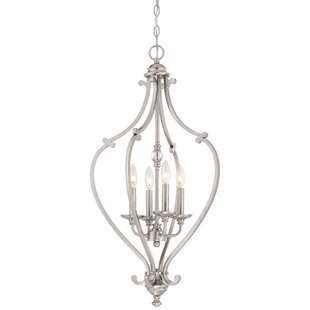 Affordable Audane 4-Light Foyer Pendant By Darby Home Co