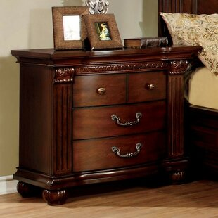 Given 4 Drawer Nightstand