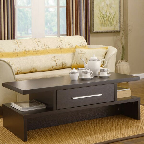 Zipcode Design Wylie Rectangular 1 Drawer Coffee Table U0026 Reviews | Wayfair Part 64