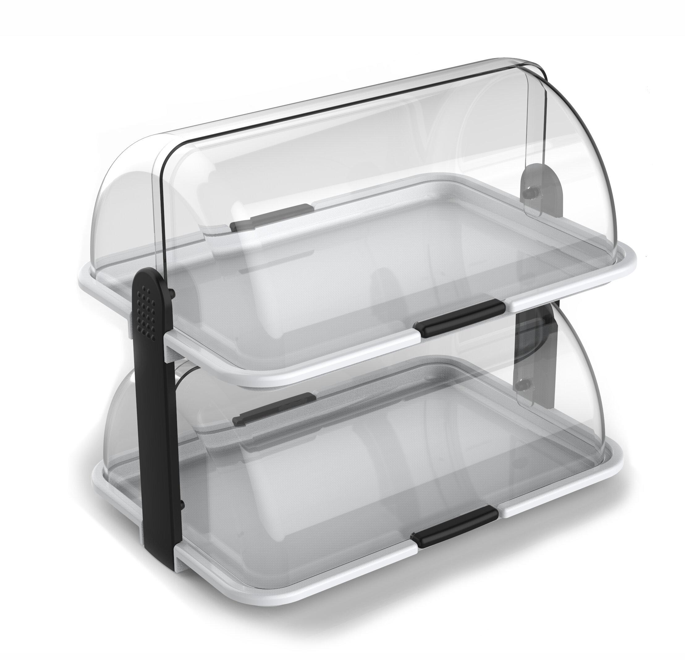 Bon Cuisinox Double Decker Polybox And Bakery Bread Box | Wayfair