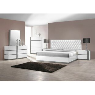Kajal Upholstered Platform Configurable Bedroom Set by Orren Ellis