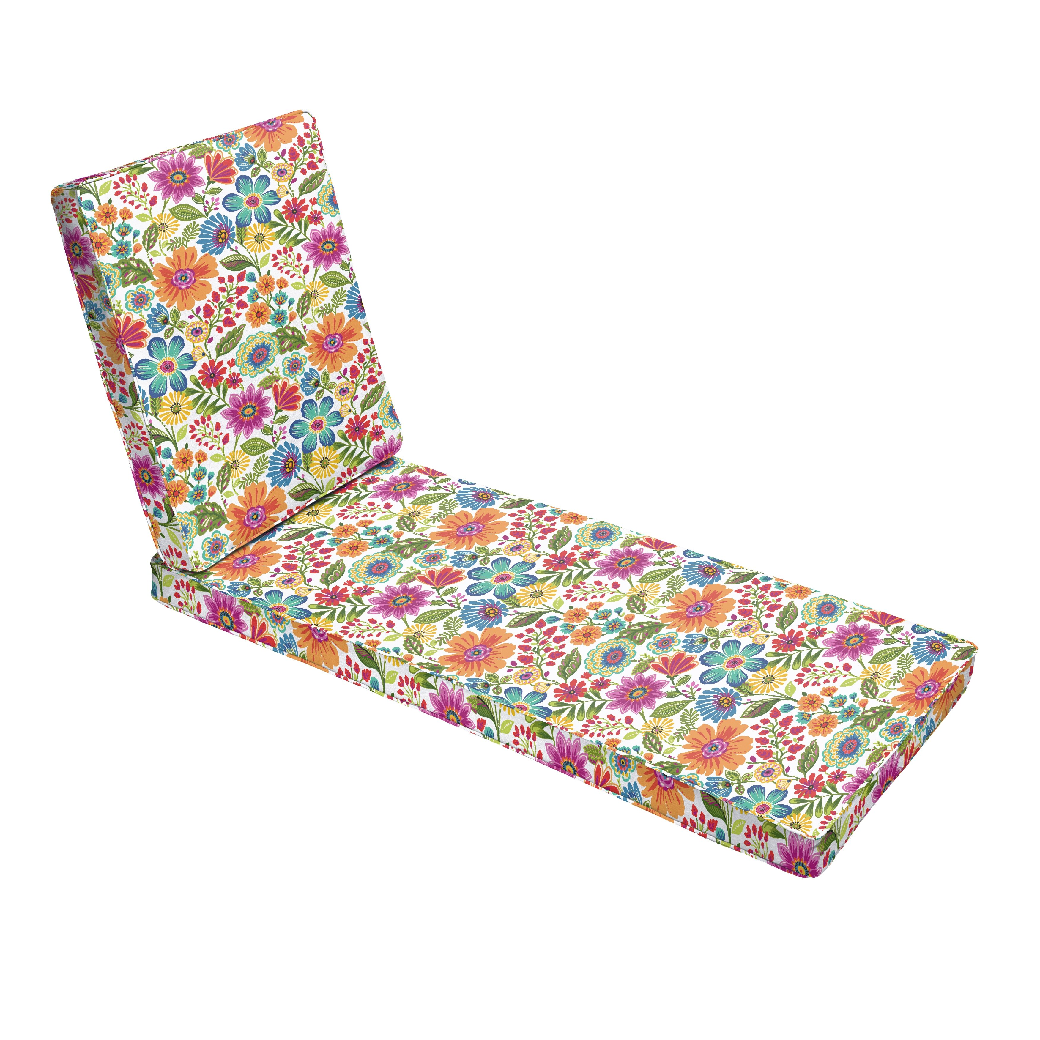 Corded Indoor Outdoor Chaise Lounge