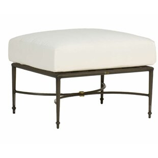 Roma Ottoman with Cushion by Summer Classics