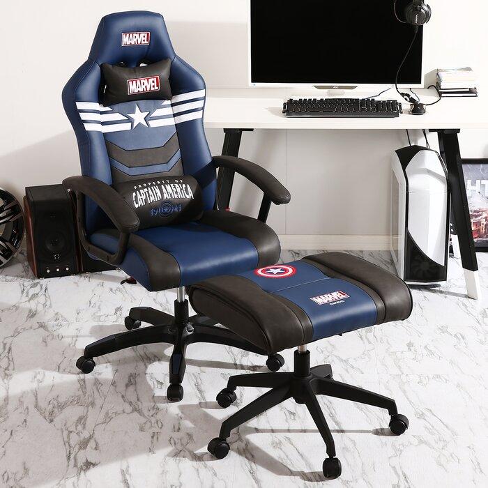 Marvel Captain America Super Premium PC & Racing Game Chair