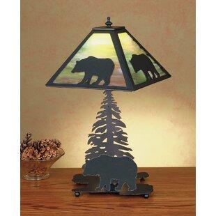 Lone Bear 15.5 Table Lamp