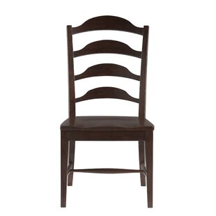 Jefferey Solid Wood Dining Chair (Set of 2)