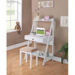 Price Check Abrams Wooden Ladder Desk and Chair Set ByGrovelane Teen