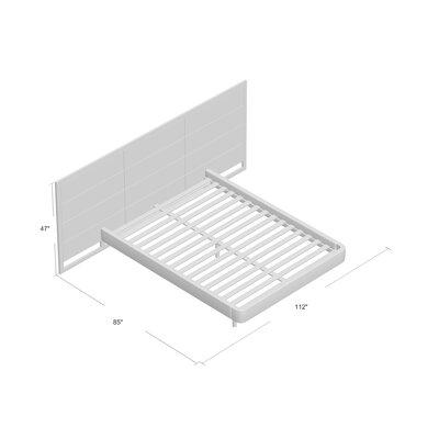 Dalton Upholstered Platform Bed Size: King by Brownstone Furniture