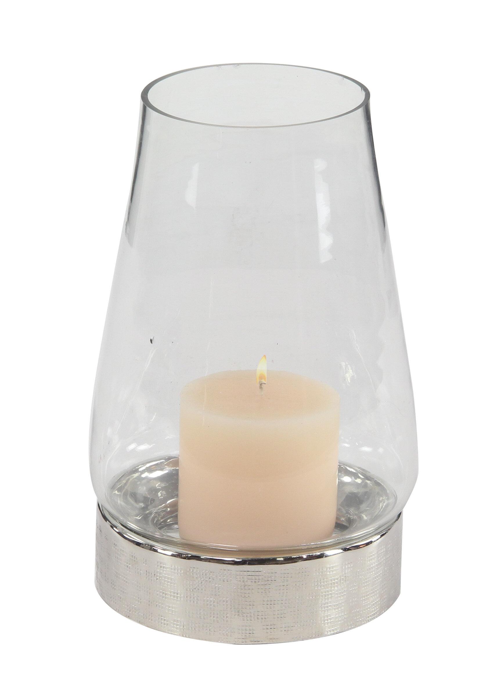 Wrought Studio Traditional Glass Hurricane Wayfair