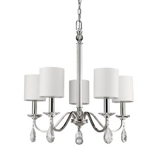 Charlton Home Potterslane 5-Light Shaded Chandelier