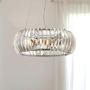 Maliyah 3-Light Crystal Chandelier by Mercer41