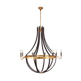 Gracie Oaks Karteek 8-Light LED Empire Chandelier