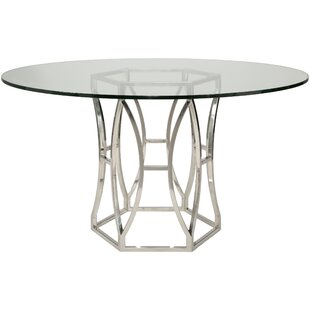 Reynaldo Metal Base Dining Table