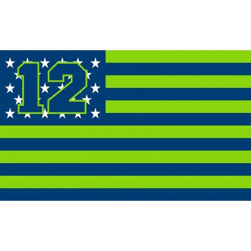 Neoplex Seattle 12 American Stripes Polyester 24 X 36 In House Flag Wayfair