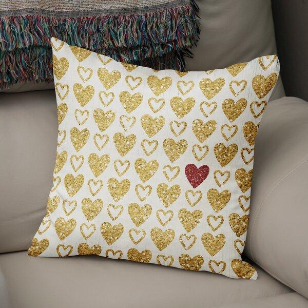 Red Heart Pillow Wayfair Ca