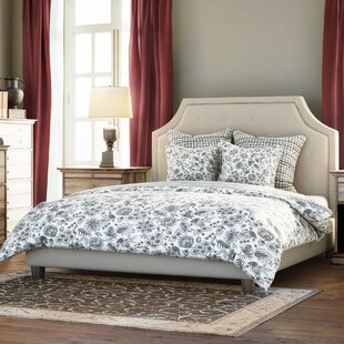 Humphries Upholstered Platform Bed by Three Posts