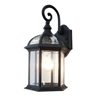 Contemporary 1-Light Outdoor Wall Lantern  sc 1 st  Wayfair : outdoor light wall - www.canuckmediamonitor.org