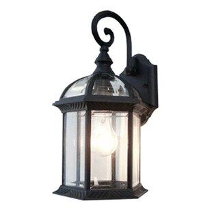 Contemporary 1-Light Outdoor Wall Lantern  sc 1 st  Wayfair & Outdoor Wall Lighting u0026 Barn Lights Youu0027ll Love | Wayfair